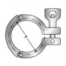 Heavy Duty Clamp,Three Piece, Wing nut with Hole